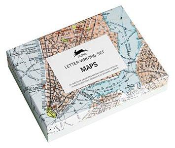 Letter Writing Set - Maps
