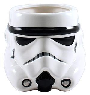 Storm Trooper Big Face 3D Sculpted Ceramic Mug