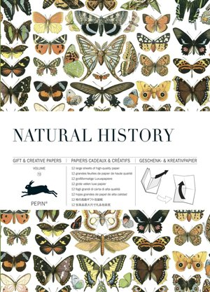 Natural History: Vol. 72: Gift & Creative Paper Book