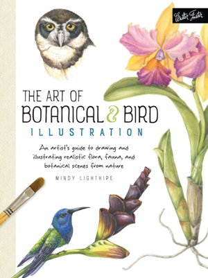 the art botanical & birds illustration