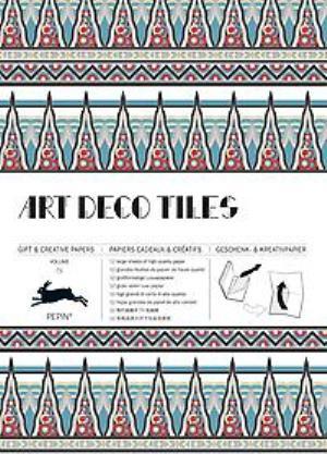 Art Deco Tiles: Vol. 71: Gift & Creative Paper Book