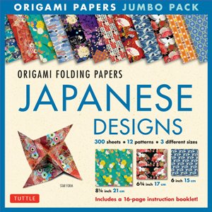 Origami Folding Papers Jumbo Pack