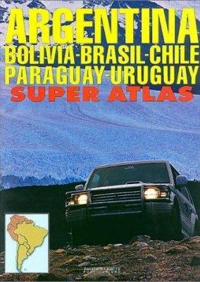 Argentina Bolovia...super atlas