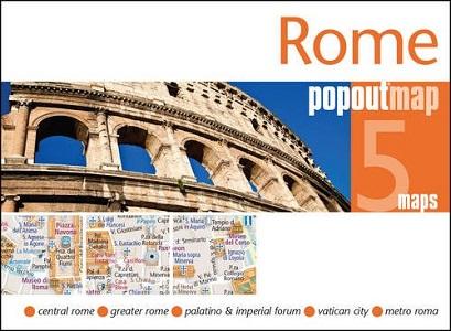 Rome PopOut Map (PopOut Maps)*