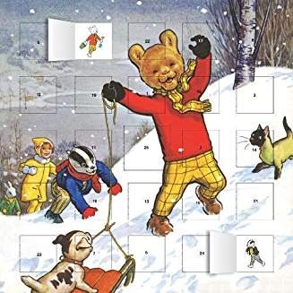 Classic Rupert advent calendar