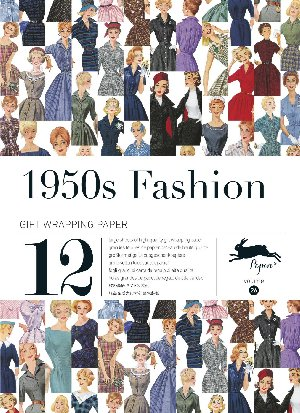 1950S FASHION. Gift Creative Papers  Vol.26