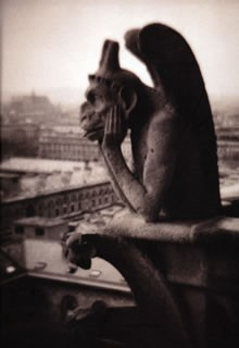 Paris Gargoyle Journal