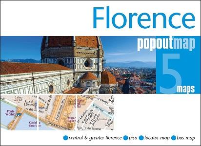 Florence PopOut Map (Popout Maps)