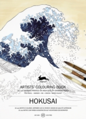 Hokusai: Artists' Colouring Book
