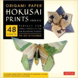 Origami Paper Hokusai Prints Large 8 1/4