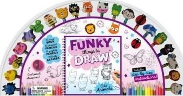 Funky Things to Draw Cute Animals (Pencil Kits)*