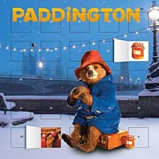 Paddington movie advent calendar