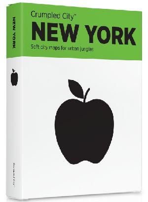 Crumpled City Map-New York
