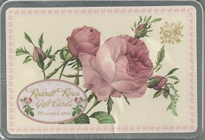 Redoute Roses Gift Tags
